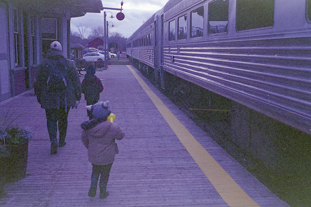 Santa Claus Train in Uxbridge
